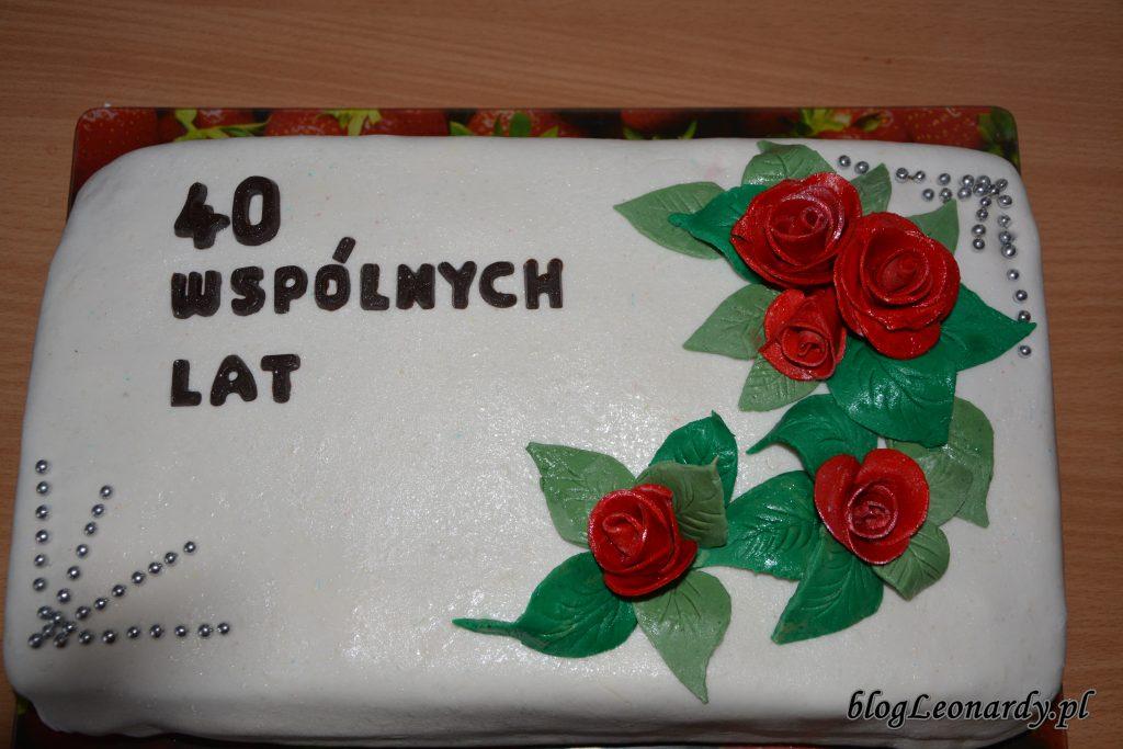 tort rocznica ślubu