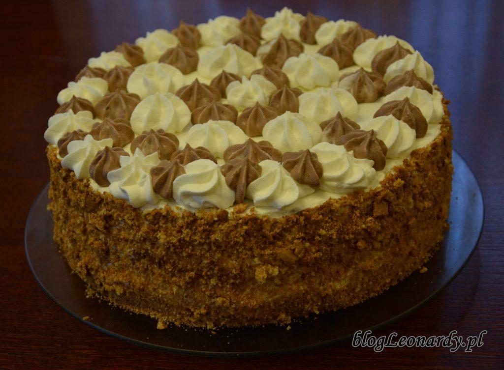 tort na szybko