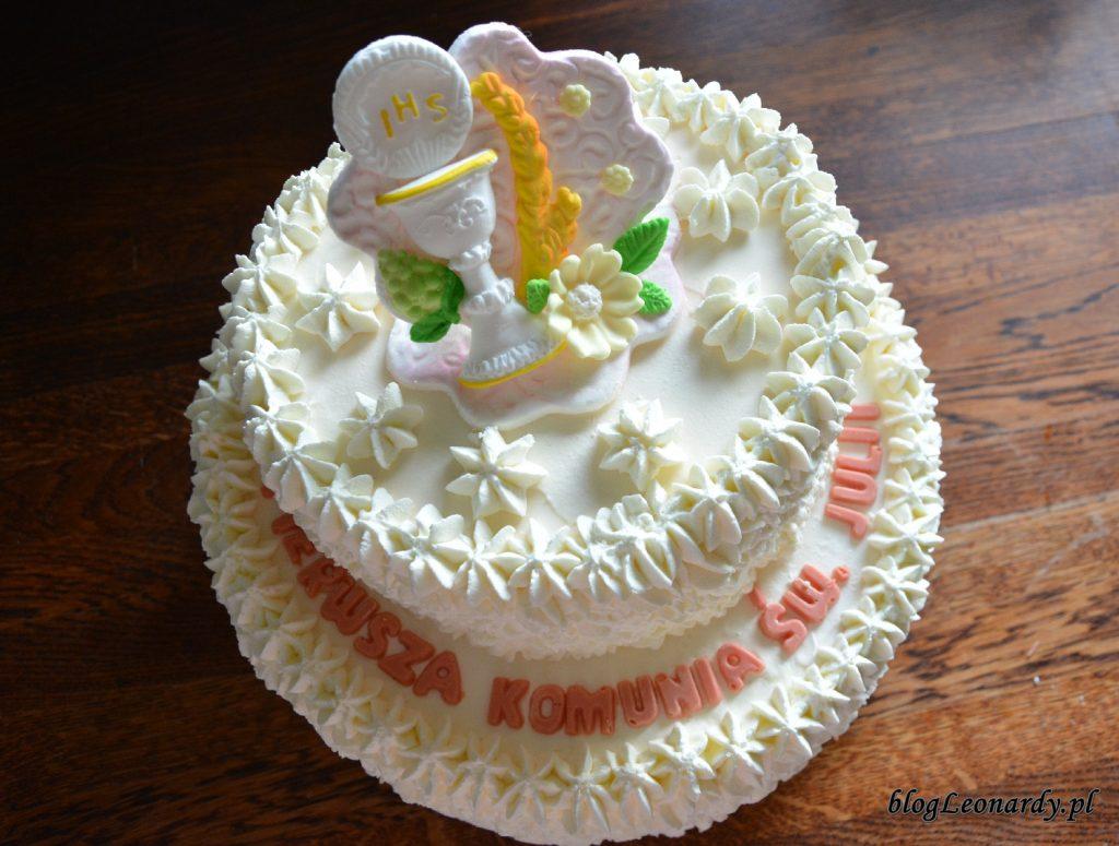przyjęcie w domu - tort