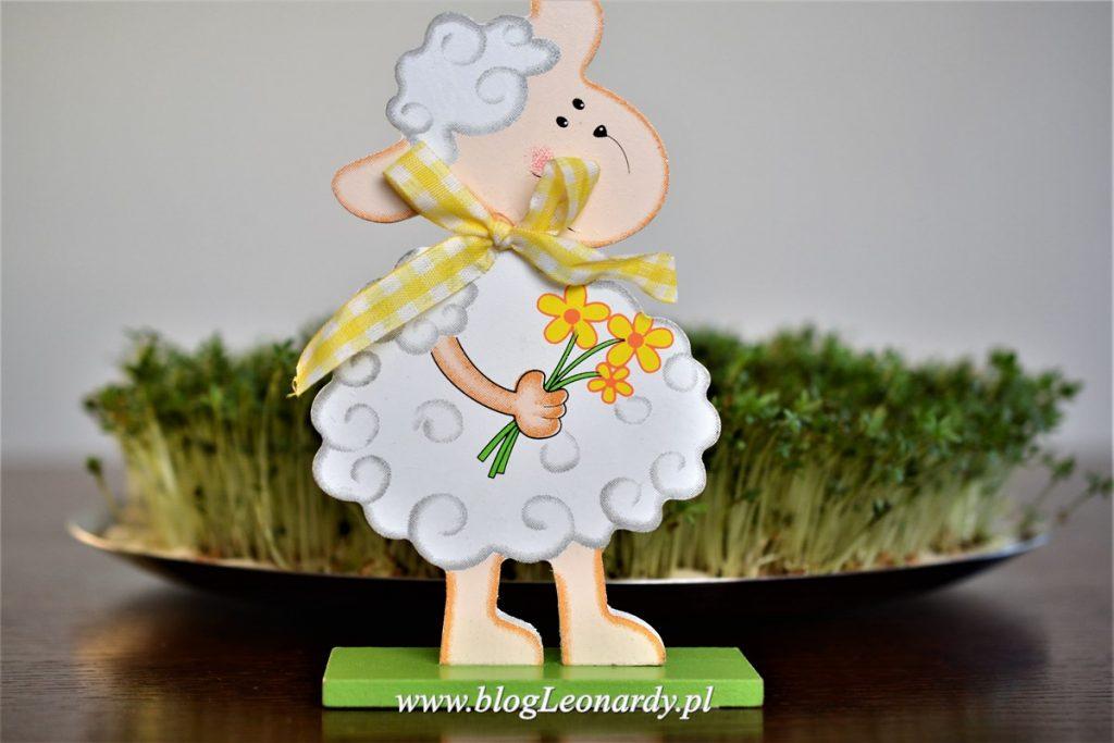 dekoracja wielkanocna - owieczka