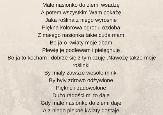 wyniki konkursu - wiersz