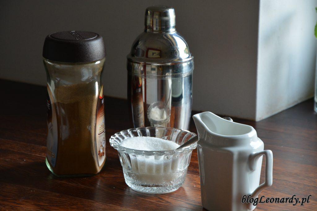 kawa mrożona przygotowanie