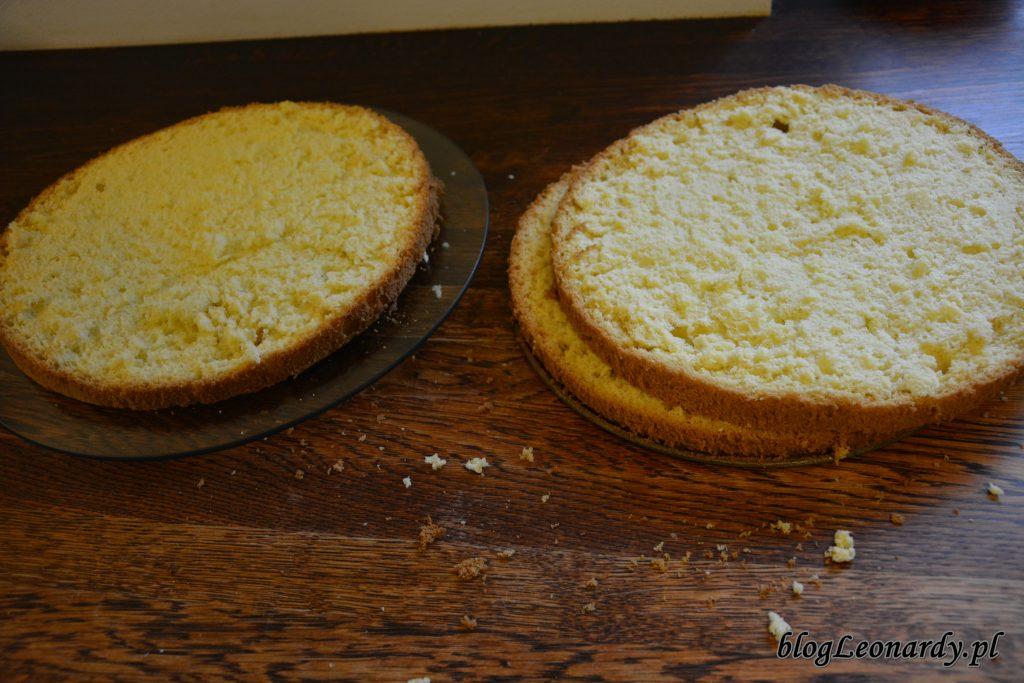 biszkopt na tort