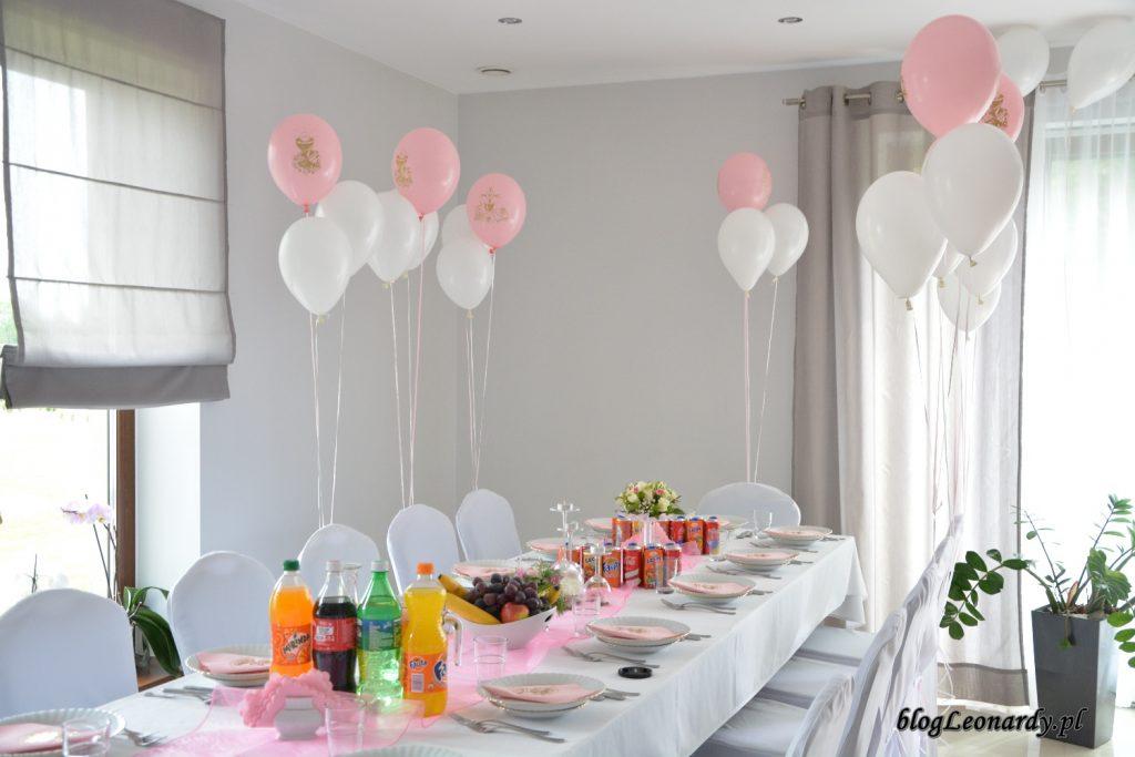 przyjęcie w domu - balony