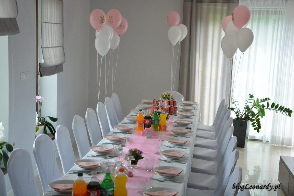 przyjęcie w domu - stół