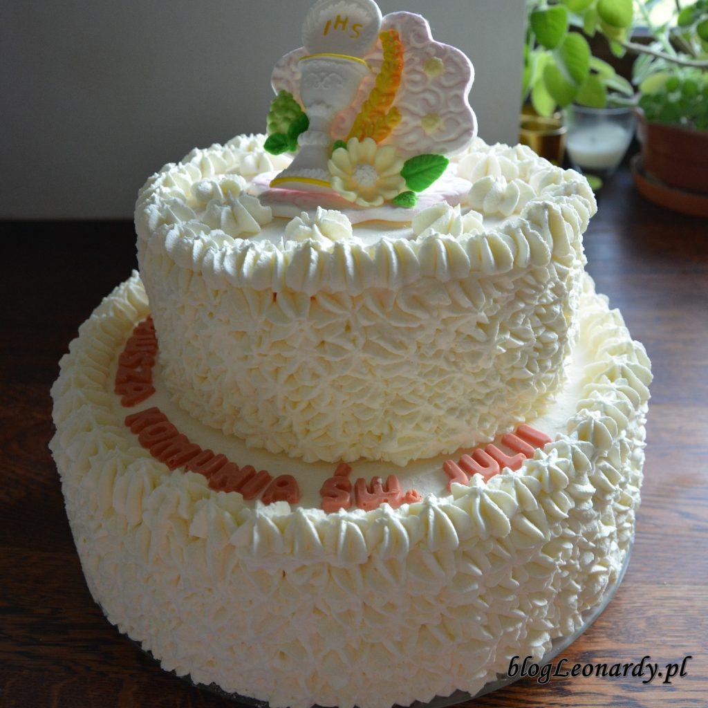 przyjęcie w domu - tort lodowy